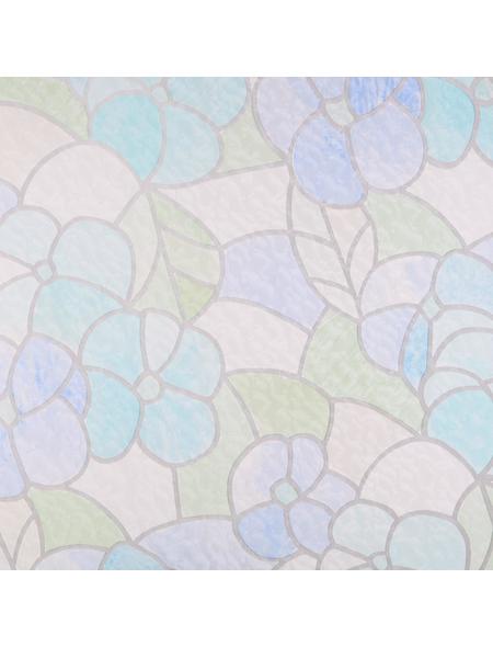 dc-fix Klebefolie, transparent, Blumen, 200x45 cm
