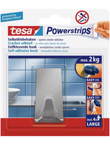 TESA Klebehaken, Edelstahl, 2 kg
