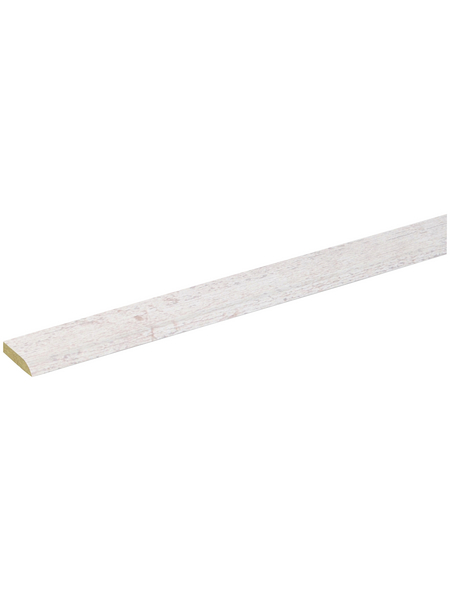 FN NEUHOFER HOLZ Klebeleiste, Holzoptik Kiefer/weiß/grau, MDF, LxHxT: 240 x 0,5 x 2,4 cm