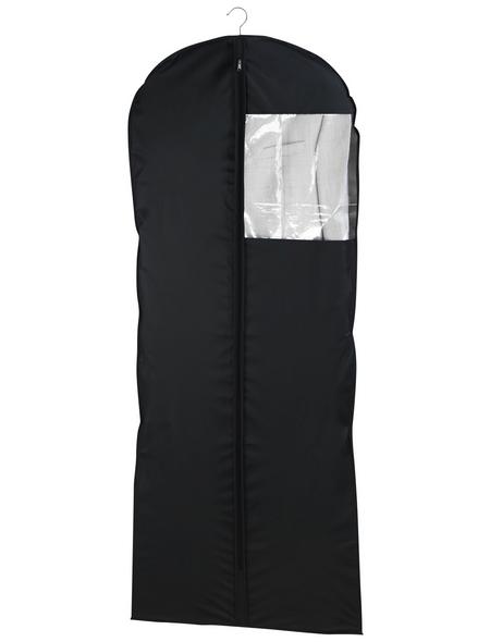 WENKO Kleidersack »Deep Black«, BxHxL: 6 x 0,01 x 150 cm, Polyethylen-Vinylacetat (PEVA), schwarz