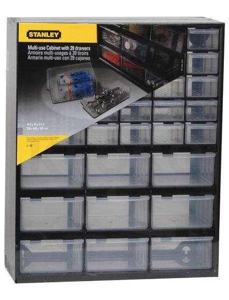 STANLEY Kleinteilemagazin, BxHxL: 37 x 44 x 16 cm, Kunststoff