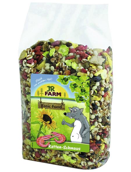 JR FARM Kleintierfutter »Basic Food«, Fleisch/Fisch/Getreide, 600 g