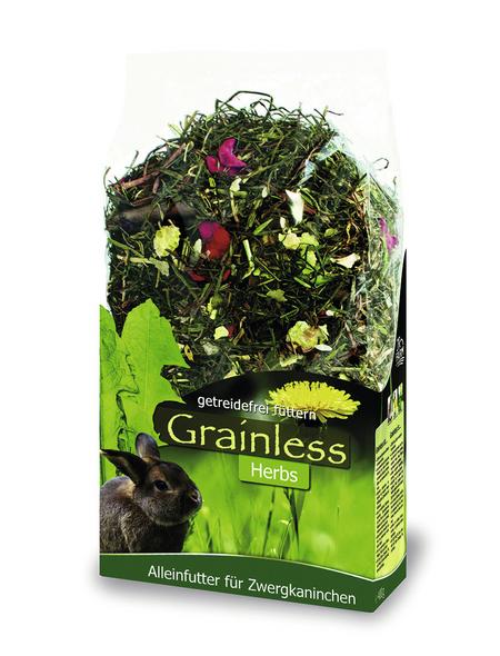 JR FARM Kleintierfutter »Grainless Herbs «, Kräuter / Rohfasern, 6x400 g