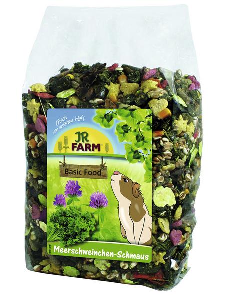 JR FARM Kleintierfutter »Meerschweinchen-Schmaus«, Rohfasern / Getreide, 6x1,2 kg