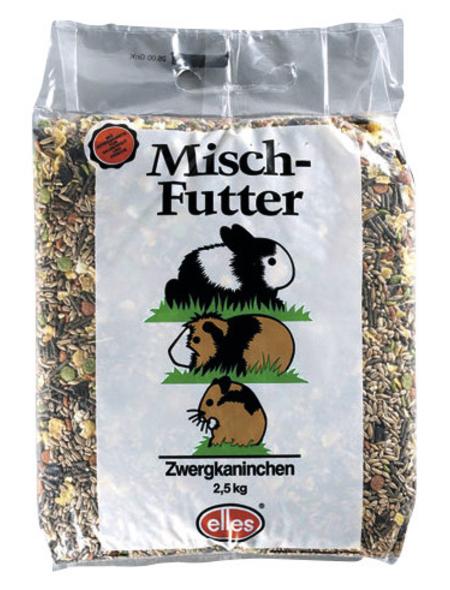 ELLES Kleintierfutter »Mischfutter«, Saaten-Mix / Getreide, 6x2,5 kg