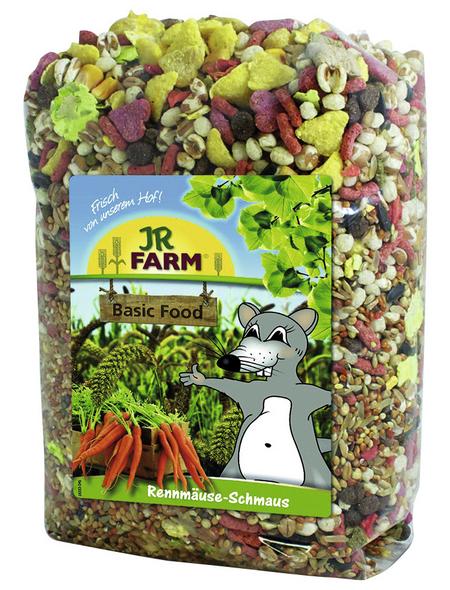 JR FARM Kleintierfutter »Rennmäuse-Schmaus«, 6 Beutel à 600 g
