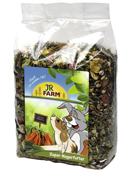 JR FARM Kleintierfutter »Super Nagerfutter«, Gemüse, 4x1 kg