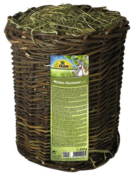 JR FARM Kleintierfutter »Weiden-Heutunnel «, Heu, 450 g