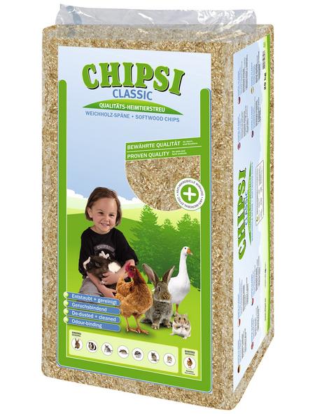 CHIPSI Kleintierstreu »Classic«, 1 Sack, 20,1 kg