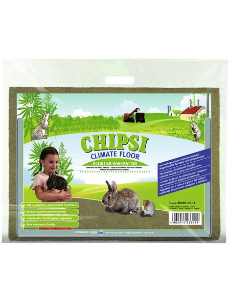 CHIPSI Kleintierstreu »Hanfmatten«, 10 Matten, 10,4 kg