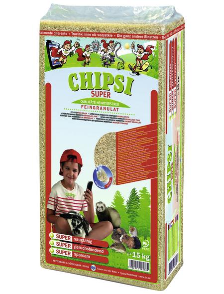 CHIPSI Kleintierstreu »Super«, 1 Sack, 15,1 kg