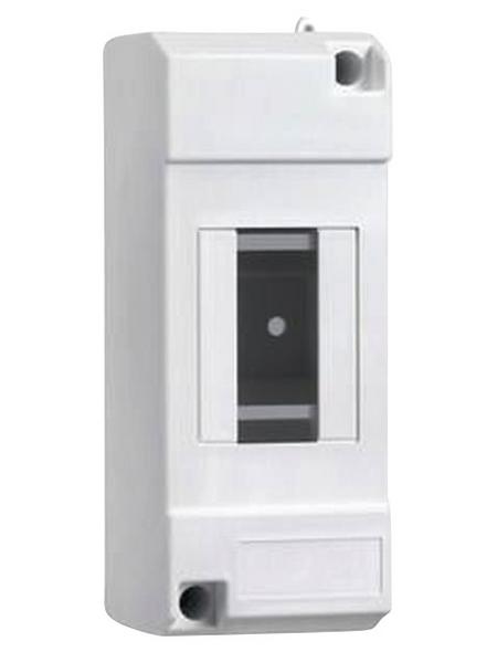 Schneider Electric Kleinverteiler, 1-reihig, 2 Module, 6 x 5,1 x 13 cm, Kunststoff, Weiß