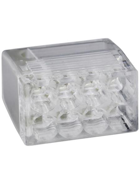 BESTEST Klemme, Compact, Kunststoff, Grau, Kabel von 0,5 bis 2,5 mm²