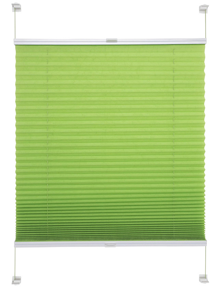 LIEDECO Klemmfix-Plissee, Young Colours, 80x220 cm
