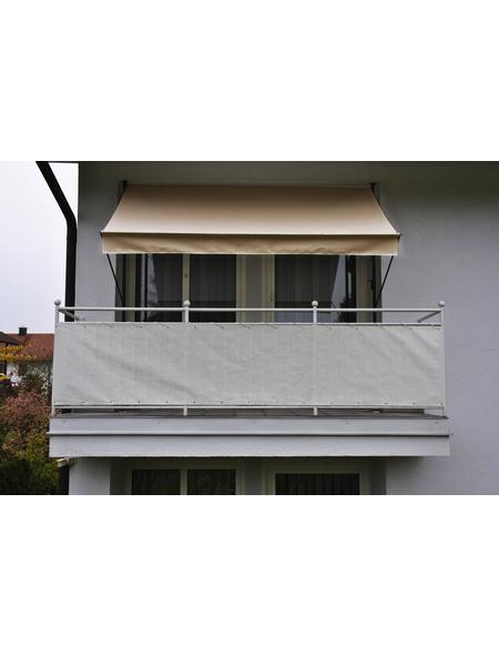 Klemmmarkise, BxT: 400x150 cm, beige