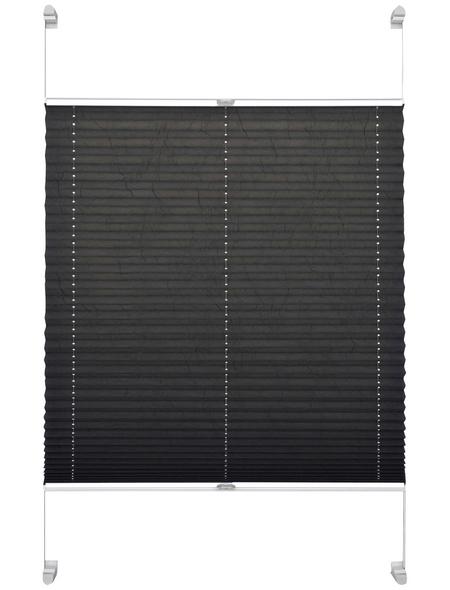 SCHÖNER WOHNEN Klemmträger Plissee, 100x140 cm