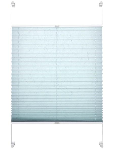 SCHÖNER WOHNEN Klemmträger Plissee, 45x140 cm