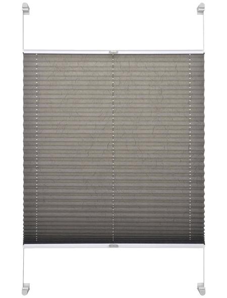 SCHÖNER WOHNEN Klemmträger Plissee, 80x220 cm