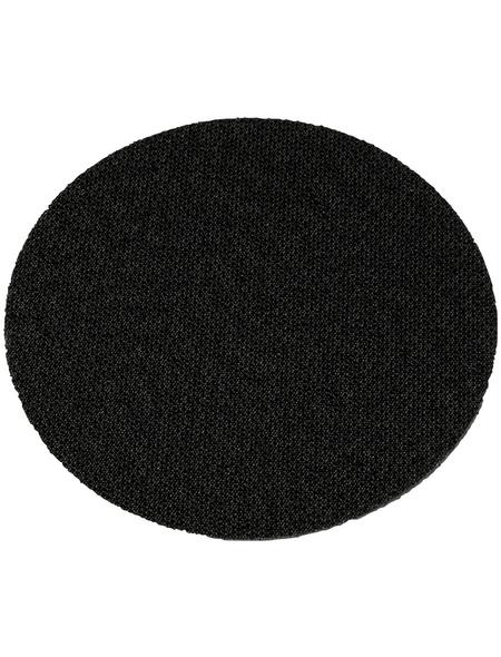 HOLZMANN Klettaufnahme, STK75AUF, Schwarz, 126 mm Durchmesser