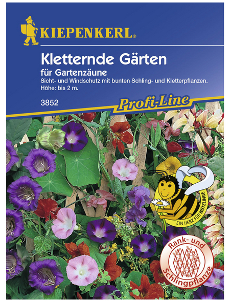 KIEPENKERL Kletternde Gärten Mix, »Mix «, Samen, Blüte: mehrfarbig