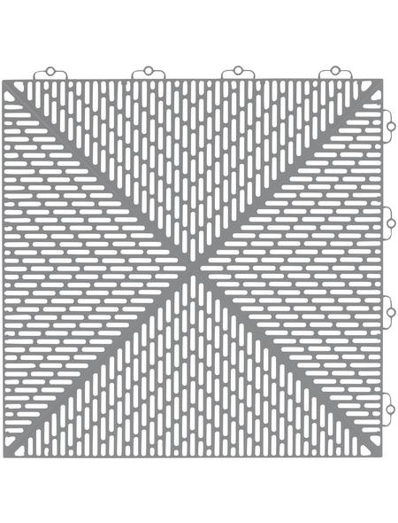 BERGO FLOORING Klick-Fliesen »Unique«, Breite: 38 cm, 14 Stück