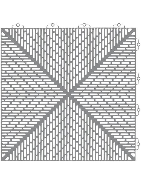 BERGO FLOORING Klick-Fliesen »Unique«, Breite: 38 cm, 35 Stück