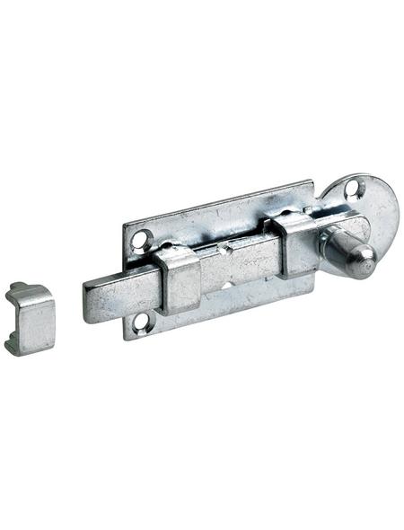 HETTICH Knopf-Schubriegel Stahl 60 x 23 x 23 mm