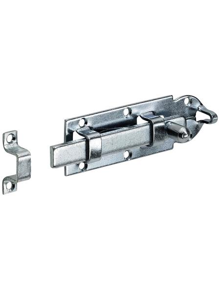HETTICH Knopf-Schubriegel Stahl 80 x 25 x 25 mm