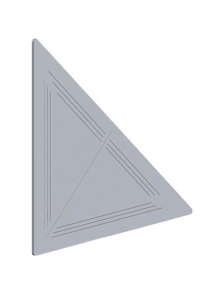 alfer® aluminium Knotenblech, BxL: 110 x 110 mm, 2 Stück