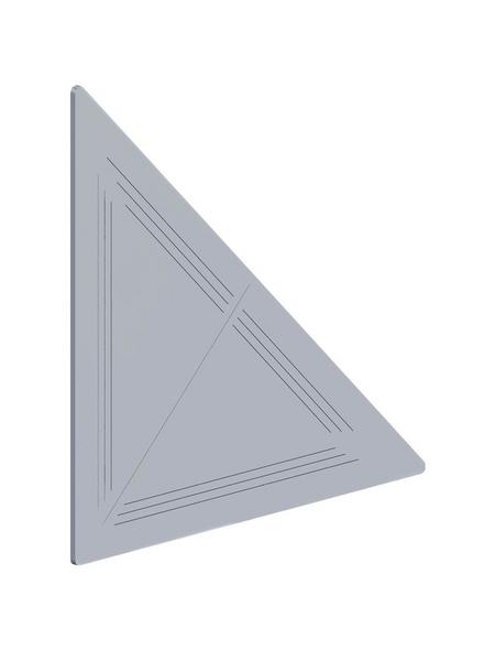 alfer® aluminium Knotenblech, BxL: 60 x 60 mm, 4 Stück