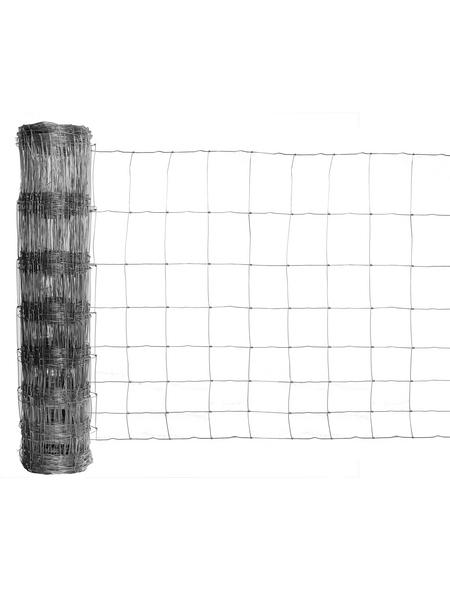 FLORAWORLD Knotengeflecht, HxL: 150 x 5000 cm, silberfarben