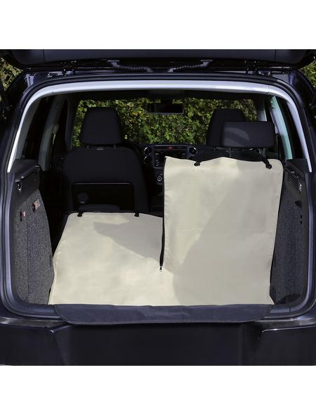 TRIXIE Kofferraumschondecke, beige/schwarz