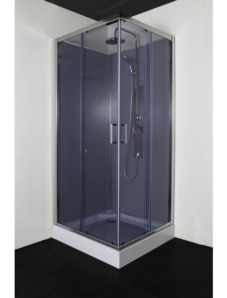 SANOTECHNIK Komplettdusche »Limbo«, BxTxH: 90 x 90 x 227 cm