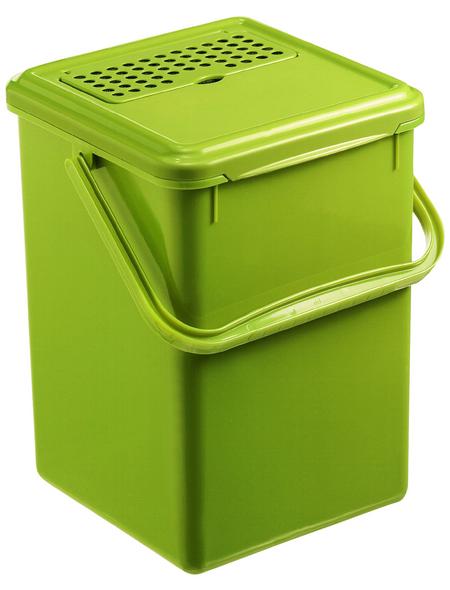 Rotho Komposteimer »Bio«, Klappdeckel, 9 l, Kunststoff
