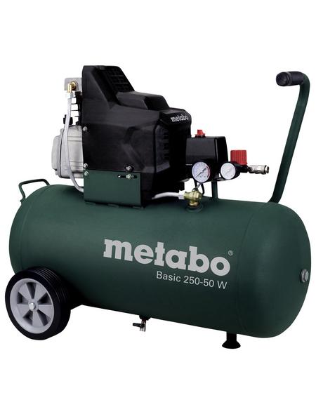 METABO Kompressor »Basic 250-50 W«, 8 bar, Max. Füllleistung: 110 l/min