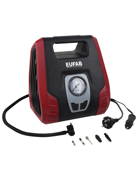 EUFAB Kompressor, Dual Power, 12/230V