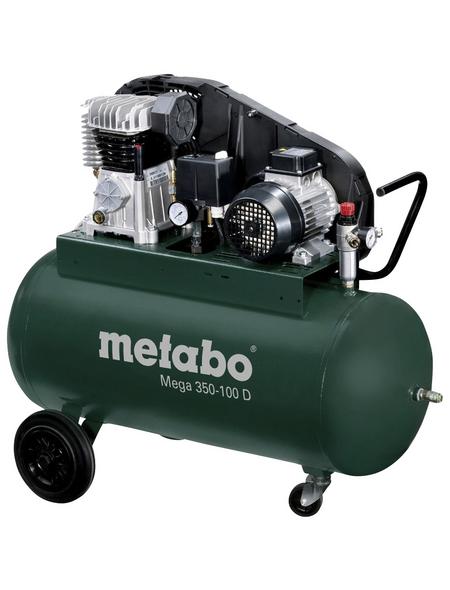 METABO Kompressor »Mega 350-100 D«, 10 bar, Max. Füllleistung: 250 l/min