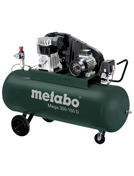 METABO Kompressor »Mega 350-150 D«, 10 bar, Max. Füllleistung: 250 l/min