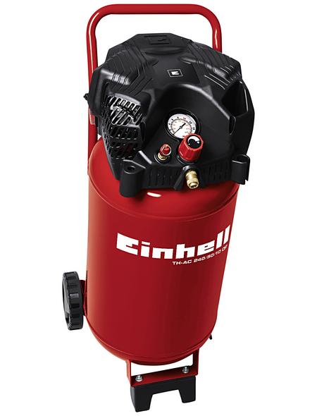 EINHELL Kompressor »TH-AC 240/50/10 OF«, 10 bar, Max. Füllleistung: 173 l/min