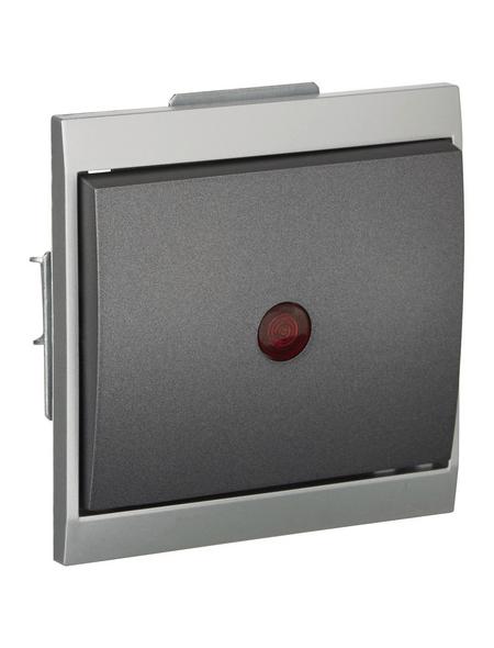 KOPP Kontrollschalter, MALTA, Thermoplast, Grau