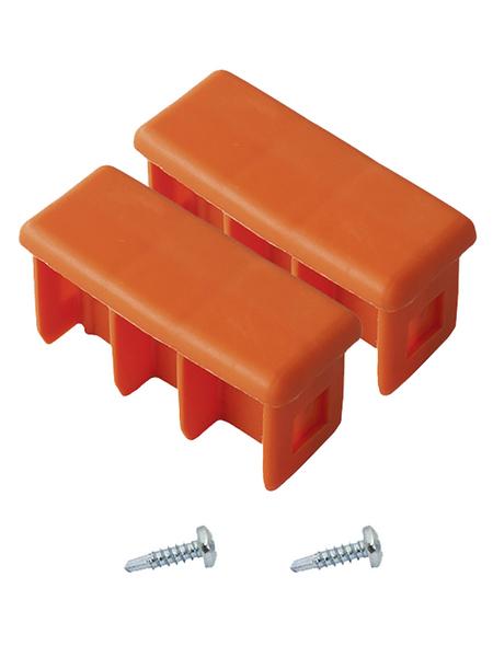 KRAUSE Kopfstopfen »MONTO«, , Kunststoff, orange