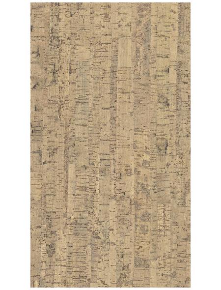 CORKLIFE Korkparkett, BxL: 295 x 905 mm, Stärke: 10,5 mm, beige