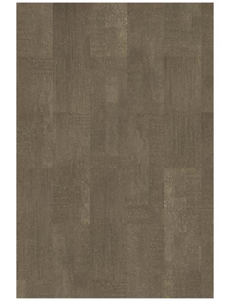 SCHÖNER WOHNEN Korkparkett, BxL: 295 x 905 mm, Stärke: 10,5 mm, braun
