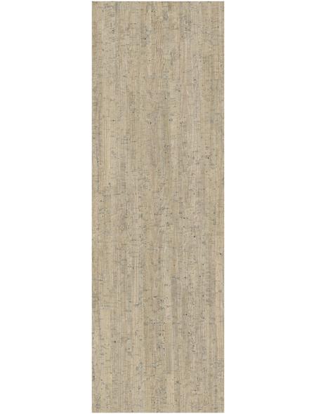 SCHÖNER WOHNEN Korkparkett, BxL: 295 x 905 mm, Stärke: 10,5 mm, weiß