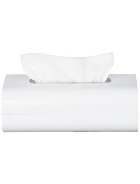 WENKO Kosmetikbox »Oria«, Höhe: 8,5  cm, weiß