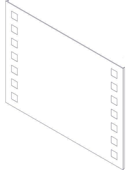 FACKELMANN Kosmetikspiegel, beleuchtet, BxH: 100 x 75 cm