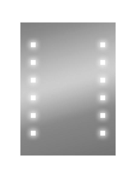 WELLWATER Kosmetikspiegel, beleuchtet, BxH: 50 x 70 cm