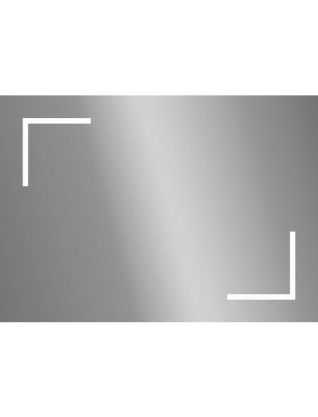KRISTALLFORM Kosmetikspiegel, beleuchtet, BxH: 70 cm x 50 cm