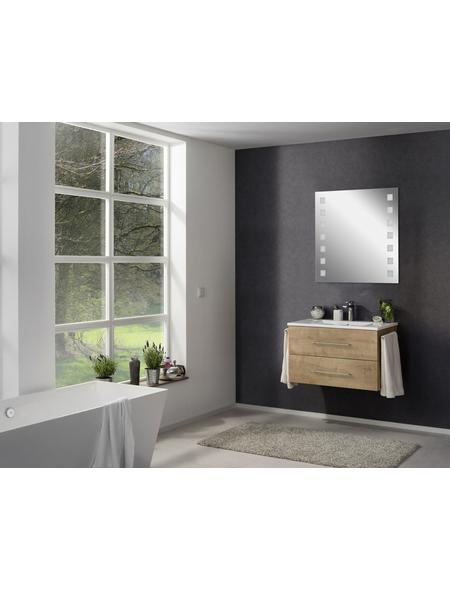 FACKELMANN Kosmetikspiegel, beleuchtet, BxH: 80 x 75 cm