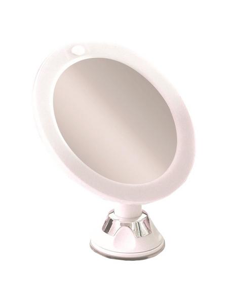 KRISTALLFORM Kosmetikspiegel, beleuchtet, rund, Ø: 16,5 cm